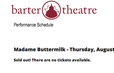 Madame Buttermilk played to sold out houses
